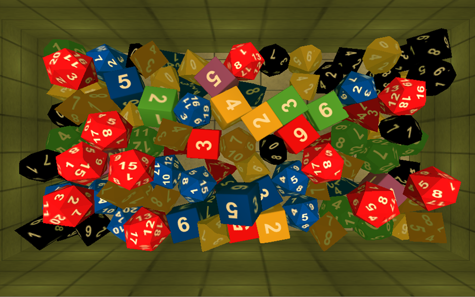 Screenshot Dice & Dragons D&D 3D
