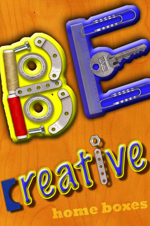 Screenshot BeCreative – iPhone version
